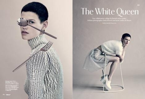 Saskia de Brauw in The White Queen