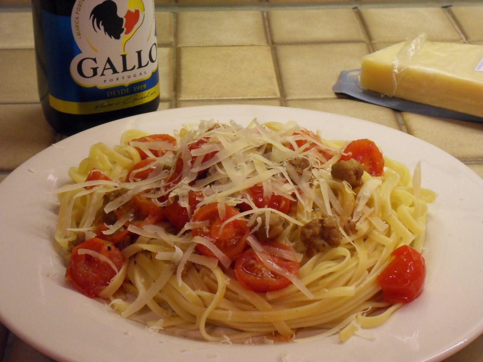 P tes la sauce bolognaise rapide aux saucisses recette - La cuisine rapide luxembourg ...