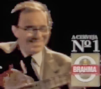 Propaganda da Brahma Chopp com João Gilberto em 1991