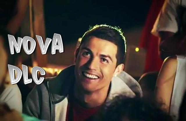 Cristiano Ronaldo em campanha para PES 2013 / © 2012 PES Magazine Brasil / Foto: Reprodução