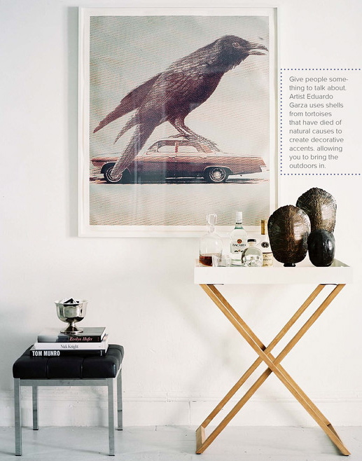 The Latest Edition Of Lonny Magazine Features A Tray Table Similar To Mine.  I Was Interested To See What Was On The Tray. On My Tray I Have My Favorite  ...