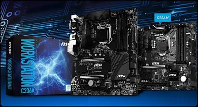 Motherboard MSI untuk Intel Xeon E3 v5 Series