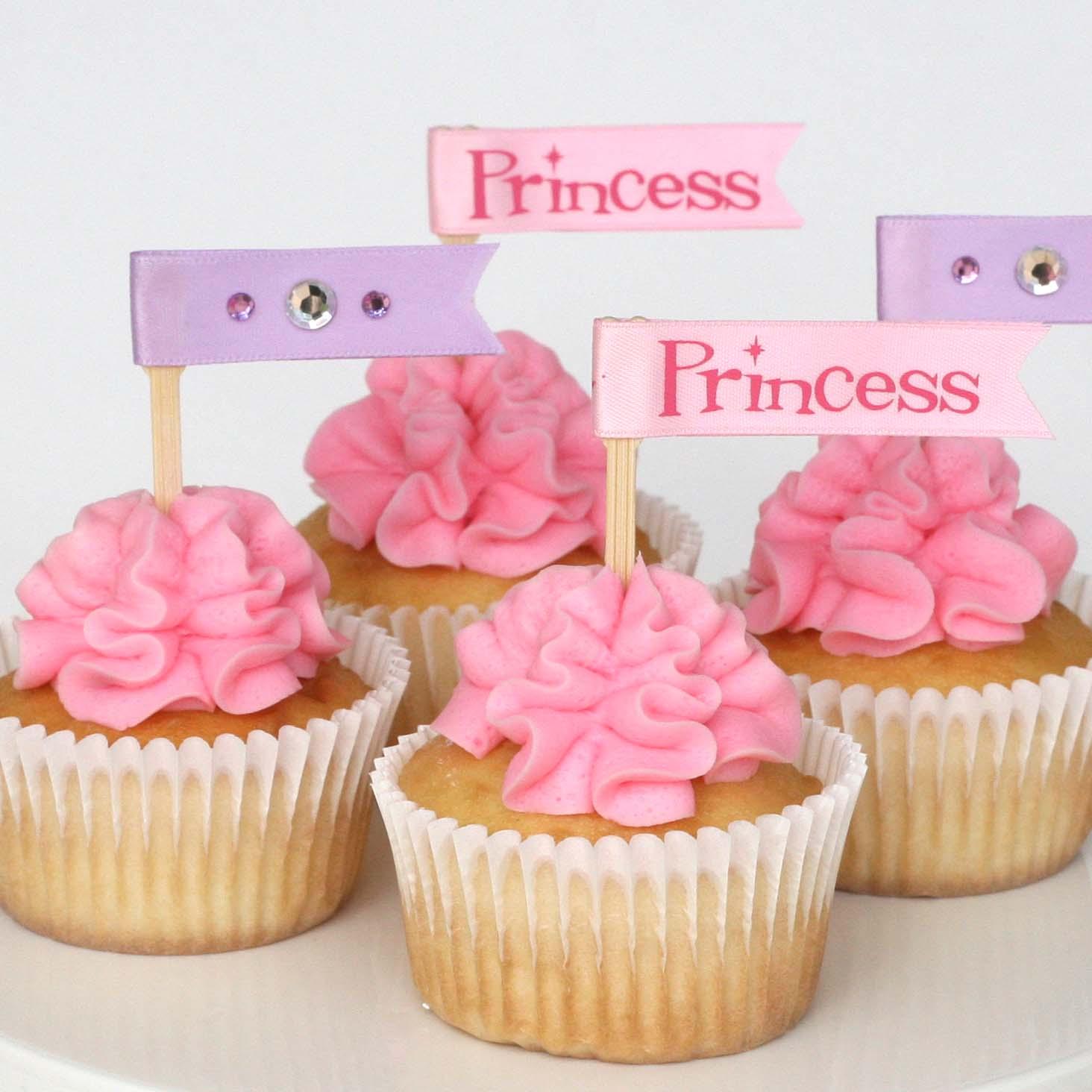Cupcake Decorating Ideas Princess : Glorious Treats: Cupcake decorating