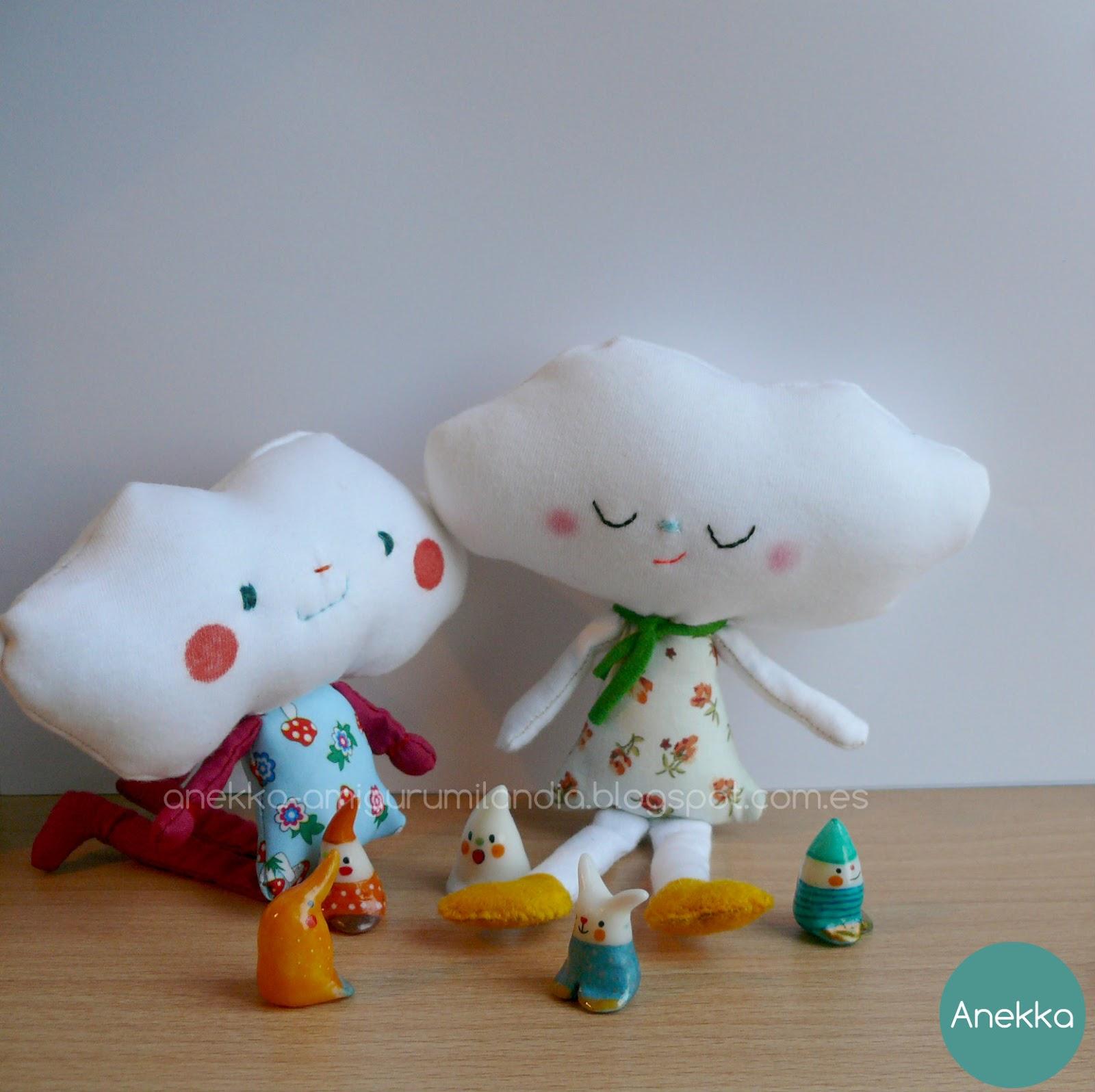 pocelain and plush doll