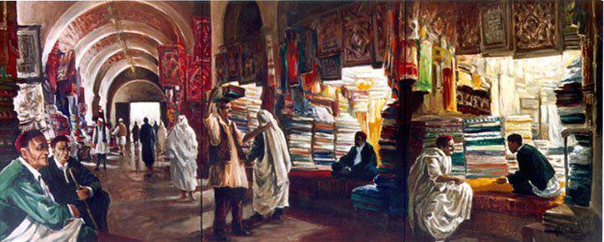 سوق اللفة بمدينة طرابلس القديمة