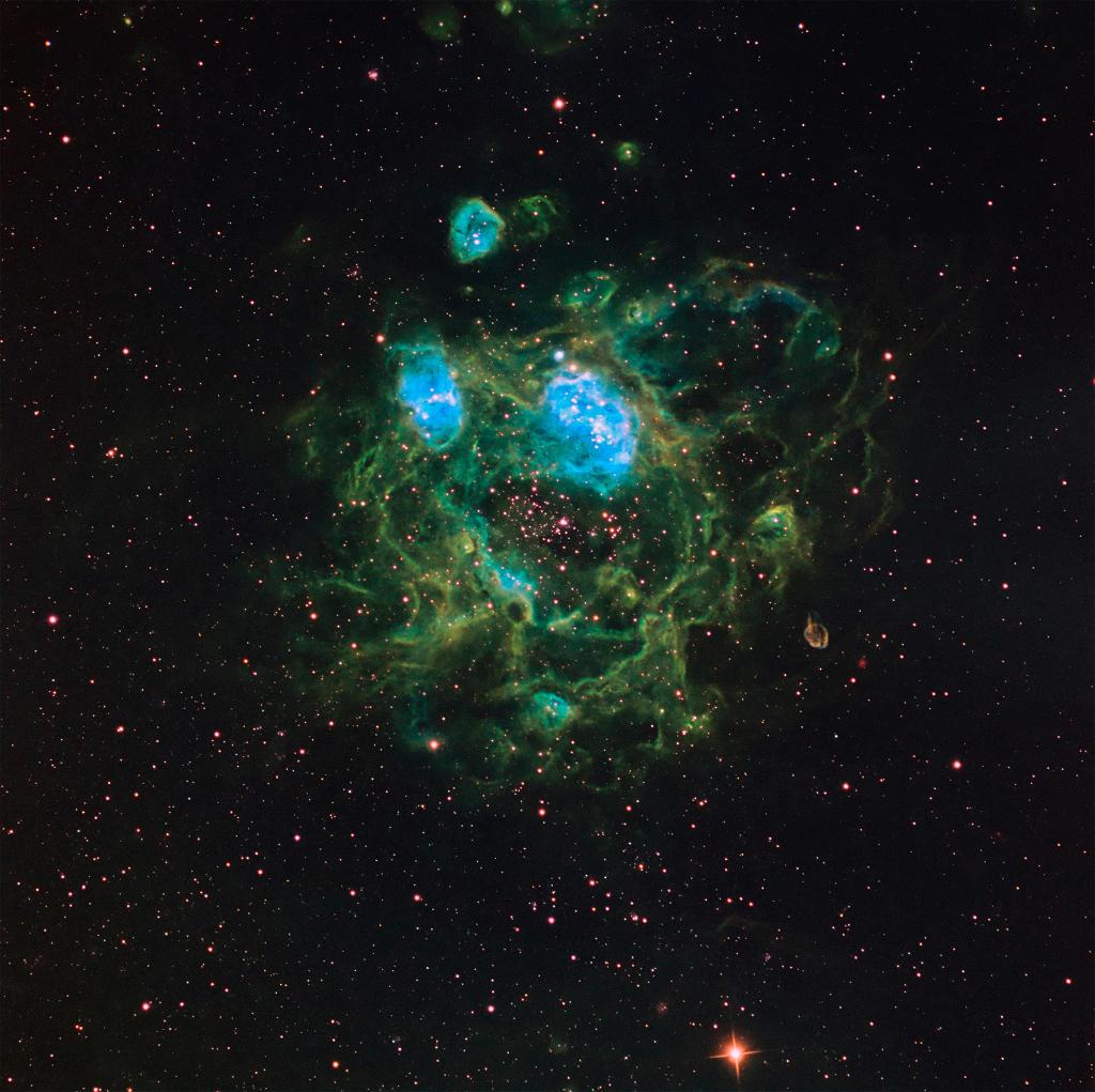 NGC 1760 - Chú mực nhảy múa. Tác giả : Don Goldman.