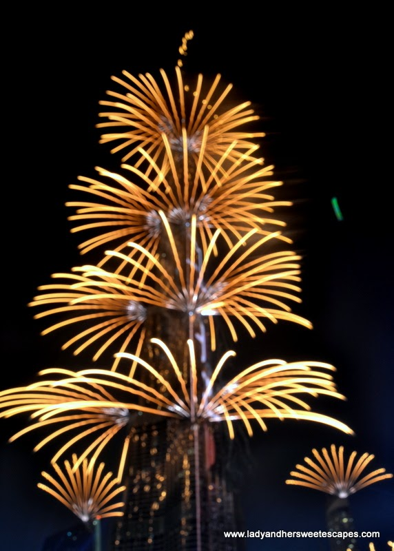 Dubai New Year fireworks 1