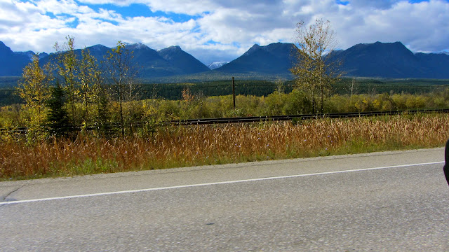 View from the trans canada highway west of Golden, British Columbia.