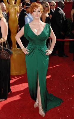 Christina Hendricks vestido fashion