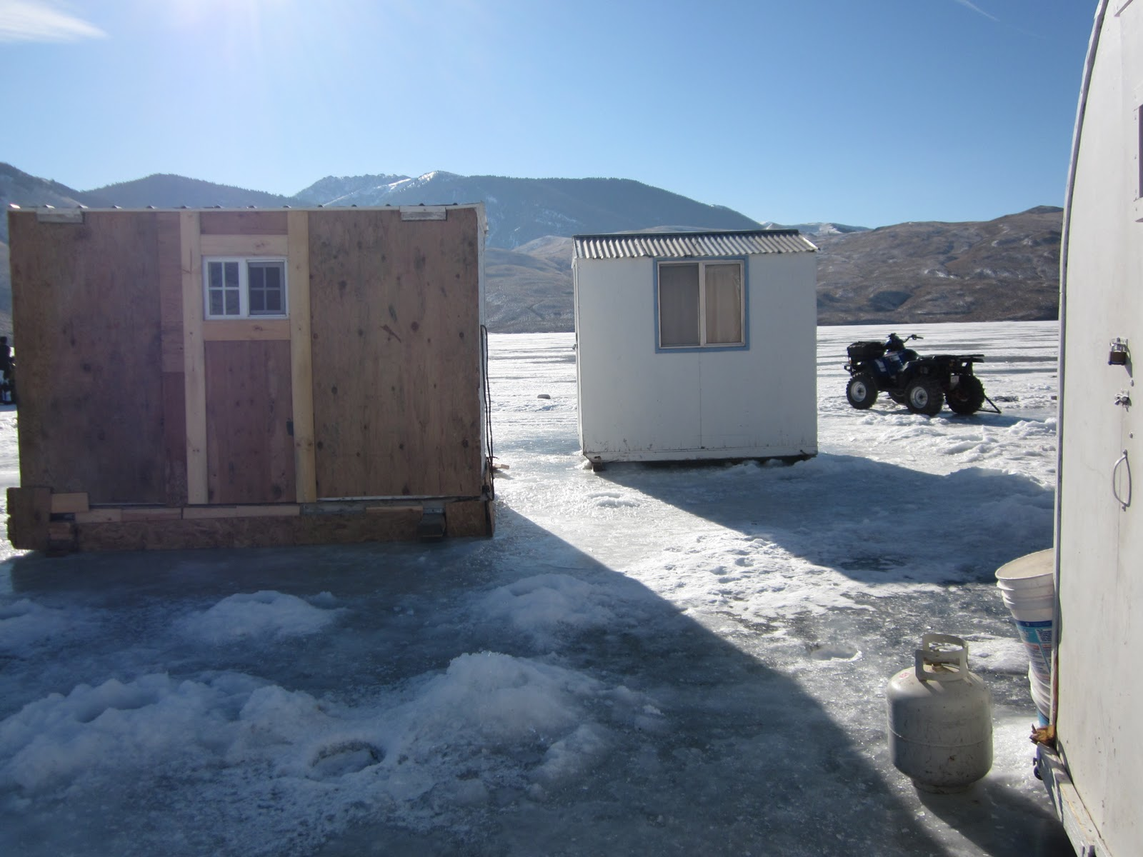 Mackay Idaho 83251 Mackay Idaho Ice Fishing On The