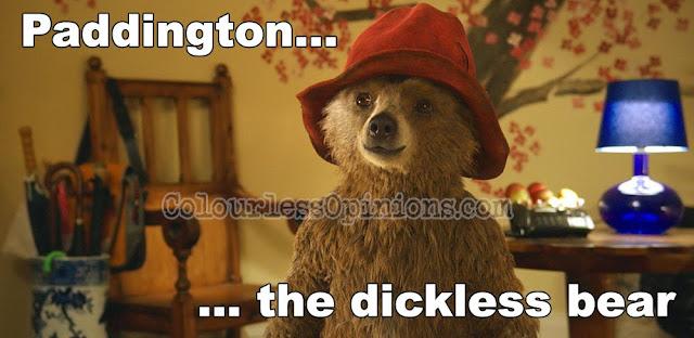 Paddington bear movie meme