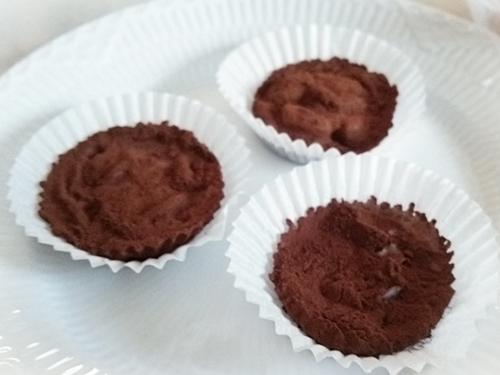 15分で作れる美味しい☆ココナッツオイルの生チョコ 完成