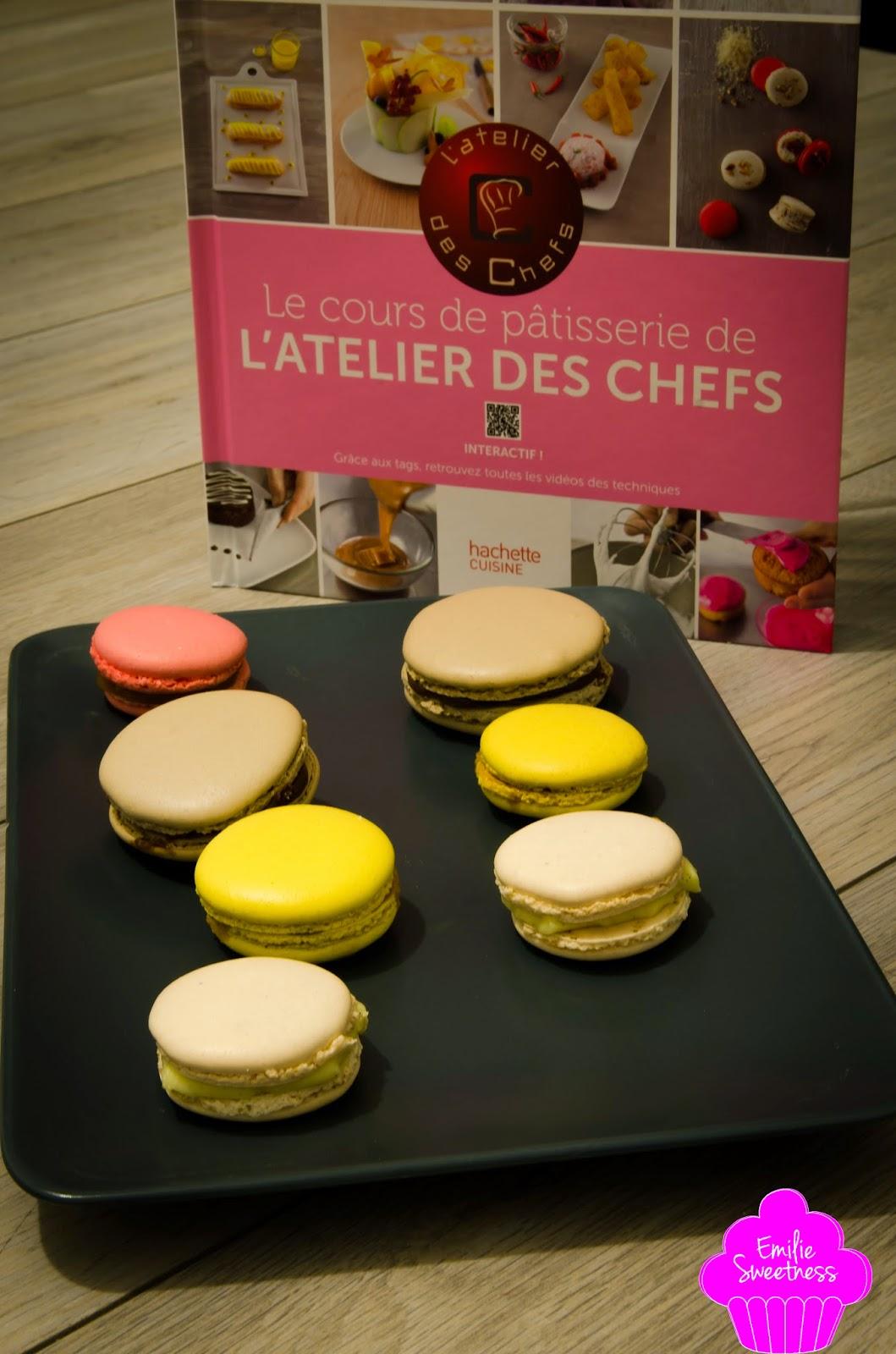 Macarons caf au sucre cuit recette cours de p tisserie - Cours de cuisine l atelier des chefs ...