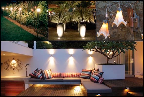 iluminacao led jardins: , Fluorescentes, Halógenas, Dicróicas e Led, qual escolher