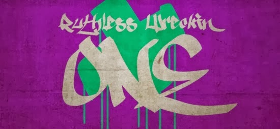 Free Graffiti Fonts - Ruthless One