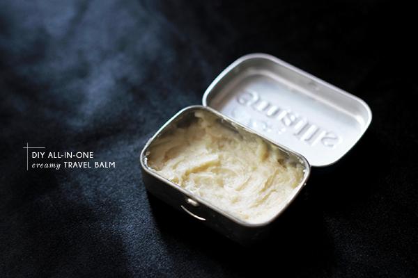 DIY butter balm in altoids can
