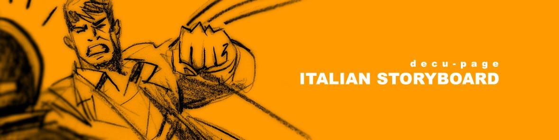 italian storyboard