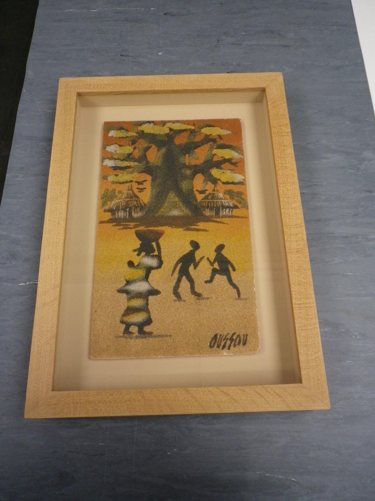 Framemaker: Framing holiday souvenirs