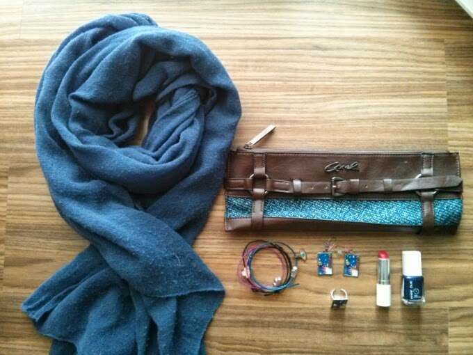 aotd ootd outfit of the day accessories of the day blue lifestyle