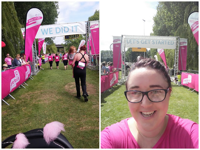 race for life cwmbran 2015 finish line selfie