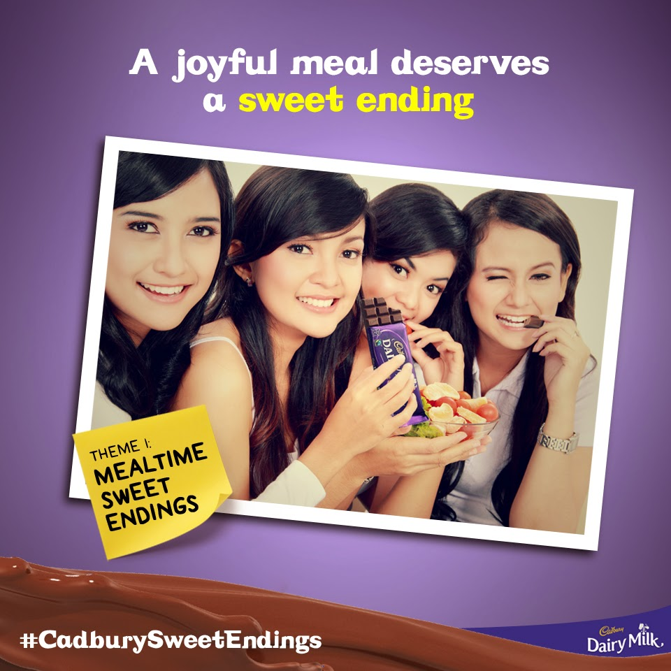 cadbury sweet endings promo, facebook, instagram