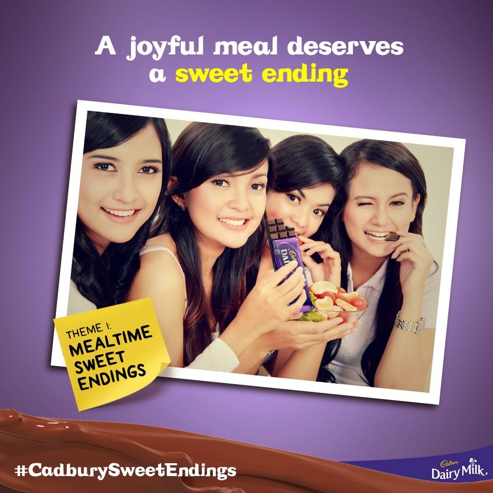 cadbury sweet endings promo, facebook, instagram