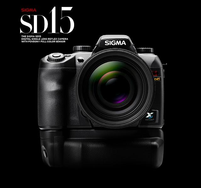 Fotografia della Sigma SD15 con sensore FOVEON