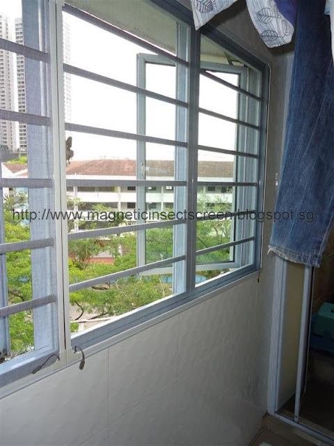 Diy Magnetic Insect Screen Singapore Installation On 30