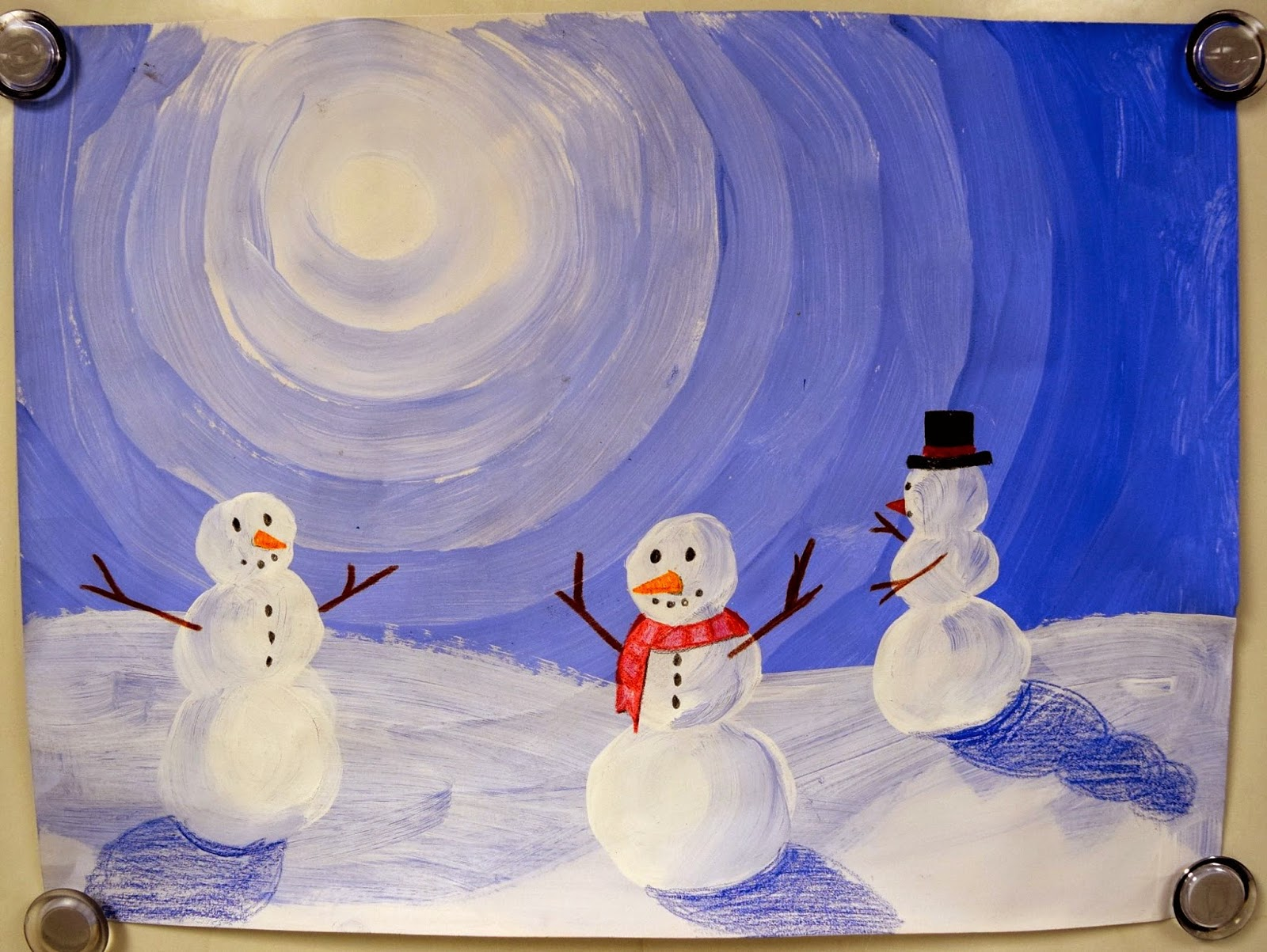 Winter 2014 Projects! (K-5) - Art with Mrs. Nguyen