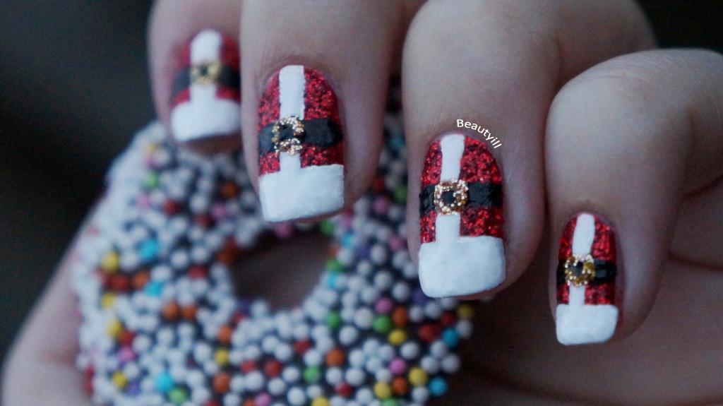 Christmas nail designs diy diy christmas nail art find fun diy nails christmas water decals nail art the nailasaurus uk view images prinsesfo Images