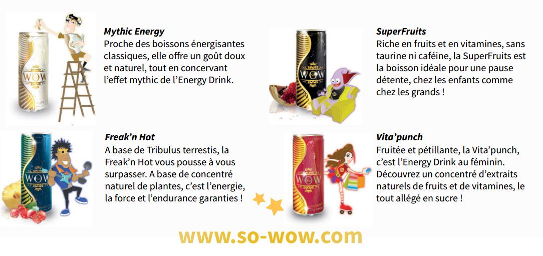 So Wow Energy Drinks