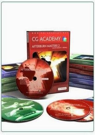 Complete CG Academy Bundle DVD 18