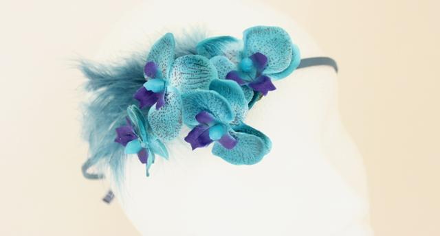 Colección Orquídea - Tiara Azul