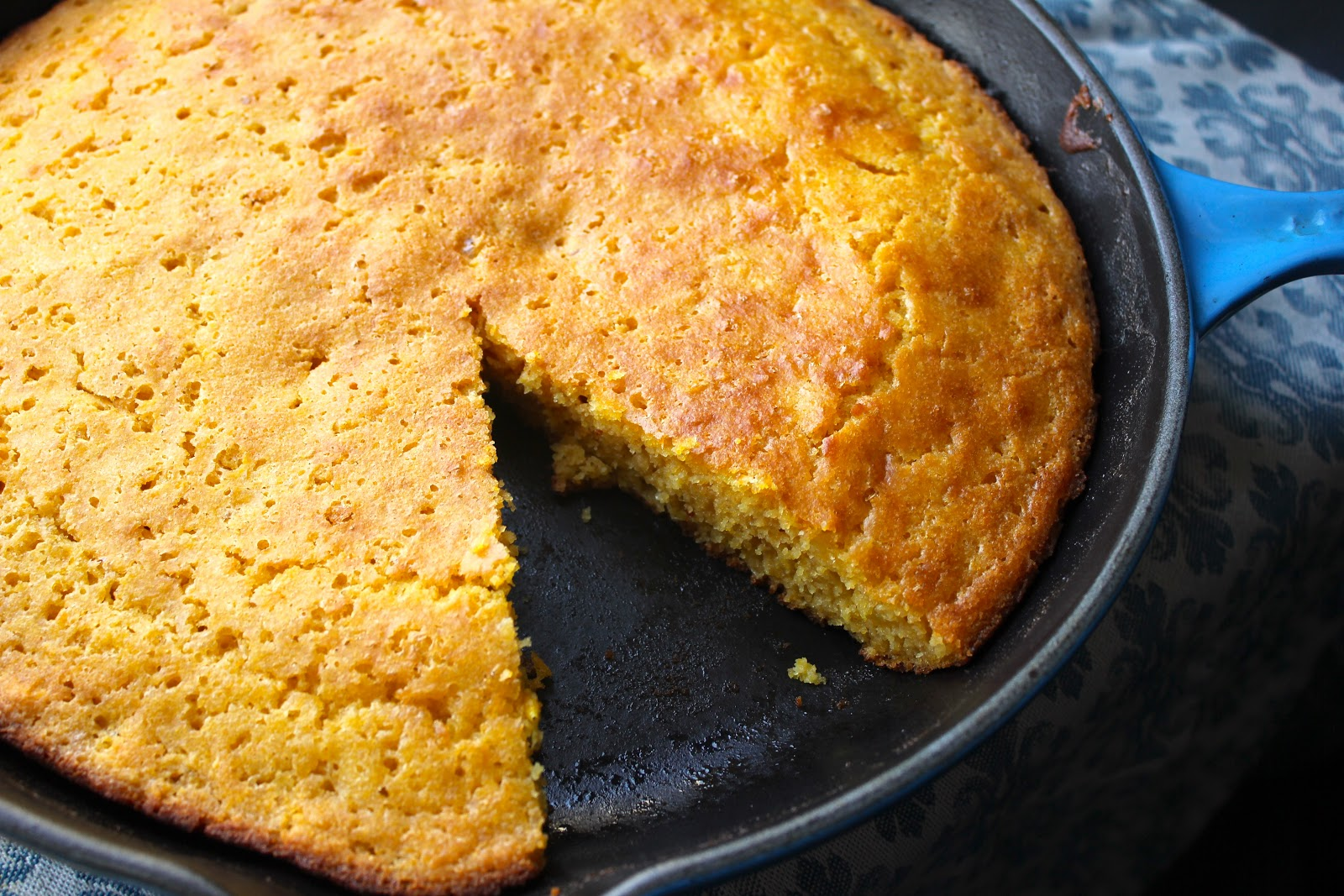 recipe with green chiles and cinnamon cornbread skillet toffee one pan ...