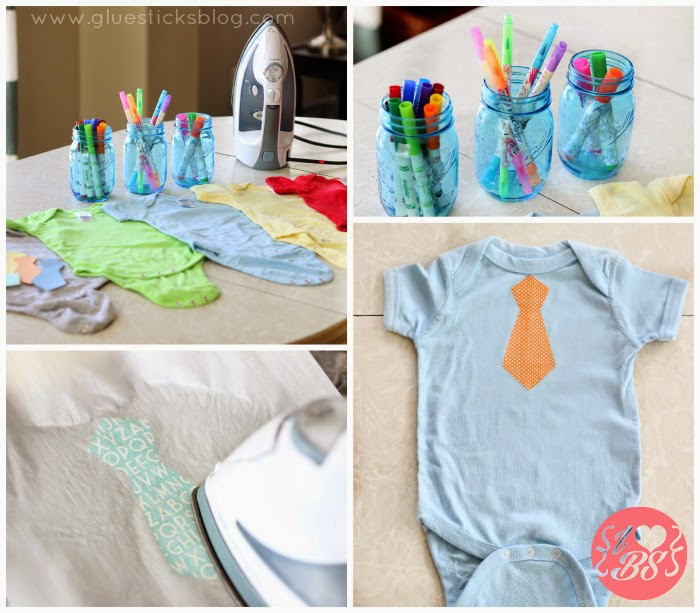 Actividad de baby shower hacer bodys de beb i love - Ideas para baby shower de nino ...