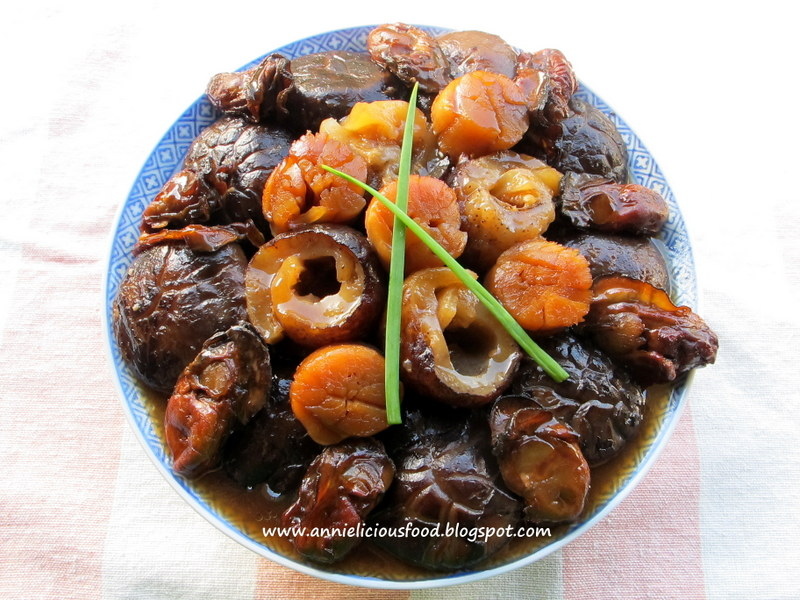 Sea cucumber pork recipe