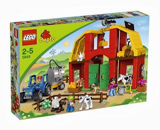 Fattoria Grande Duplo Lego costruzioni da montare 5649 2 5 anni Natale