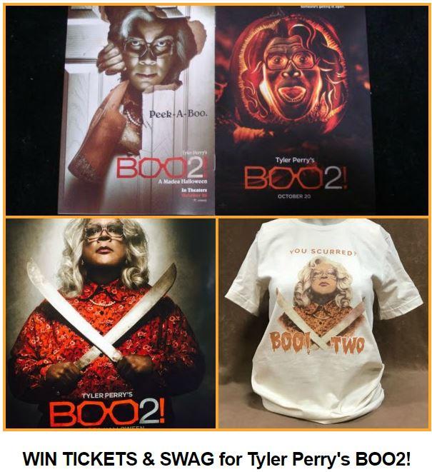 Boo2: A Madea Halloween Giveaway!