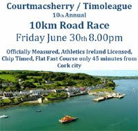 10k in West Cork...Fri 30th June 2017