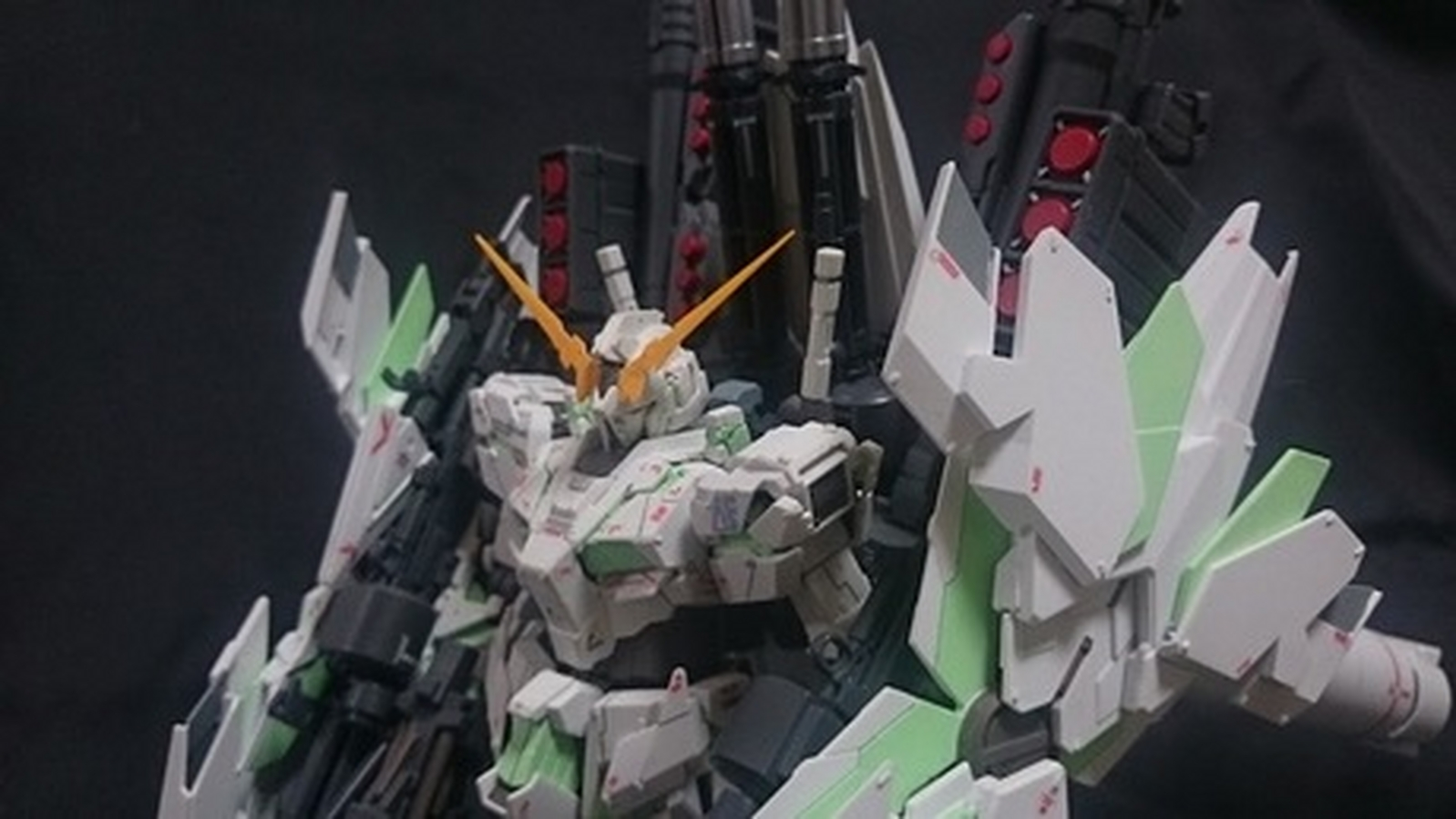 custom build mg 1 100 full armor unicorn gundam ver ka armed