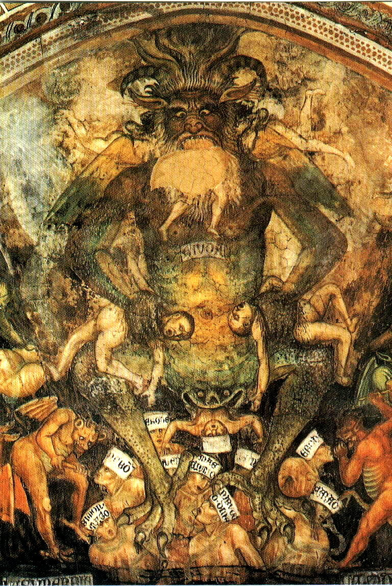 Medieval Art Hell Taddeo di Bartolo  1396