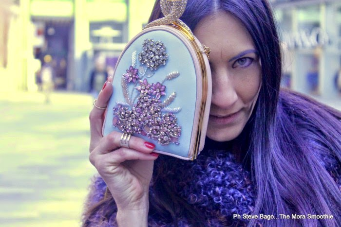 themorasmoothie, fashion, fashionblog, fashionblogger, italian fashion blogger, dress, bag, clutch, minaudiere, veneziani, veneziani bag, maliparmi, descal, shopping, mfw, milan, milano, fashion blogger italiana