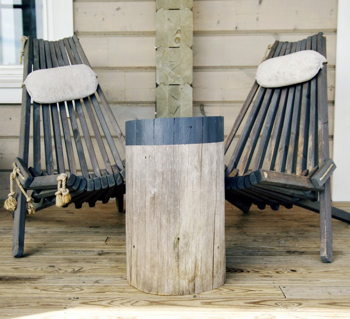 wooden stools, eco turn