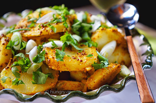 Potato Salad with Aromatic Spices