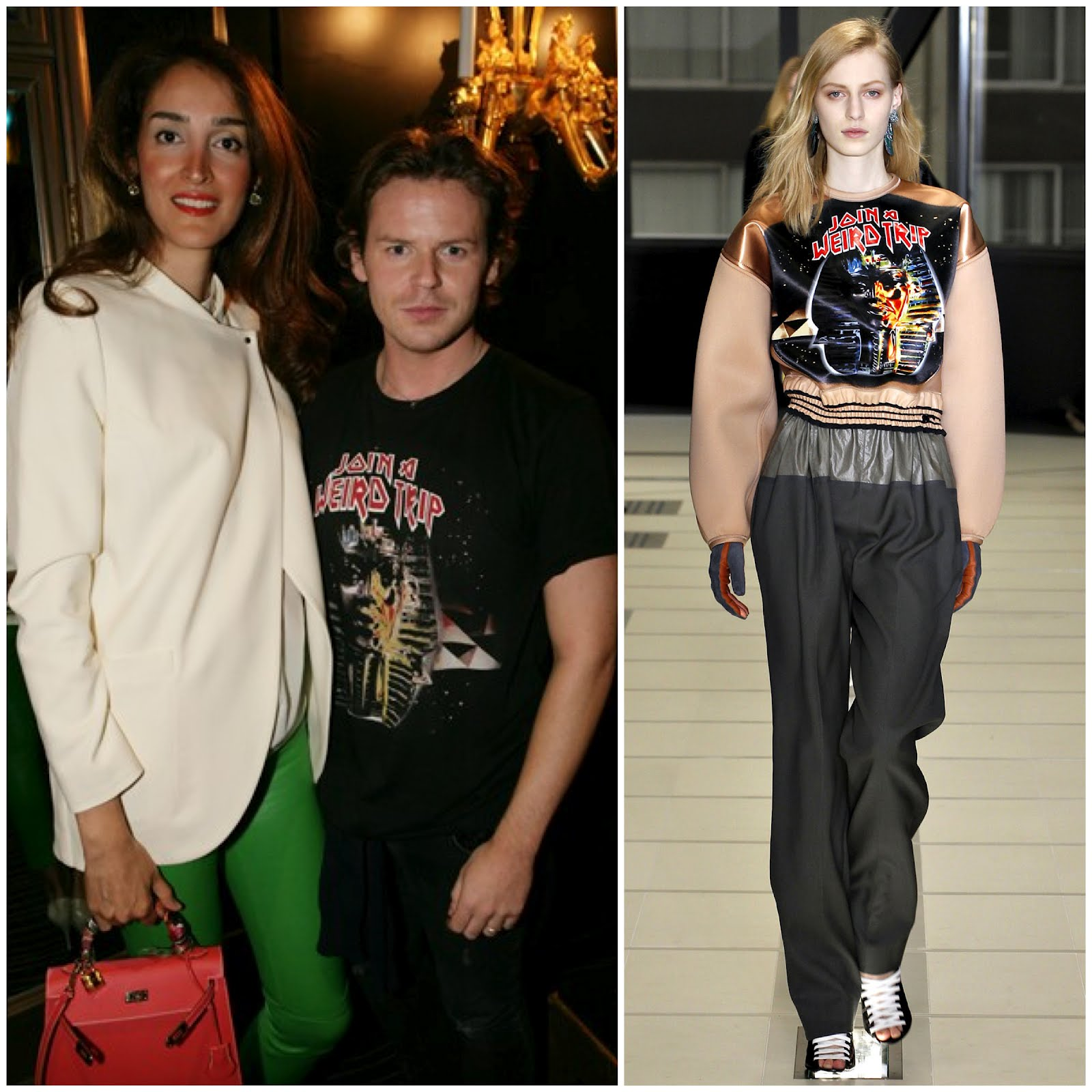 00O00 London Menswear Blog celebrity style Christopher Kane in Balenciaga The British Fashion Awards Nominees party The Savoy London