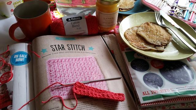 pancake crochet
