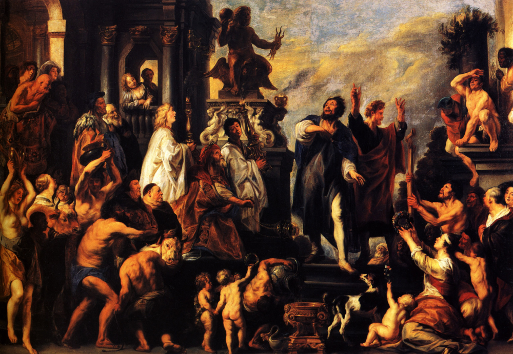 The radical catholic april 2015 the apostles paul and barnabas at lystra jacob jordaens 1593 1678 fandeluxe Gallery