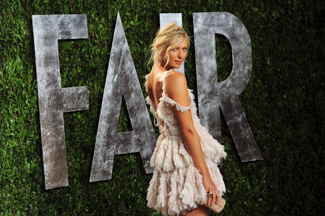 Maria Sharapova Photo -Oscar 2012