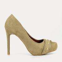 Pantofi dama Lynna khaki ( )