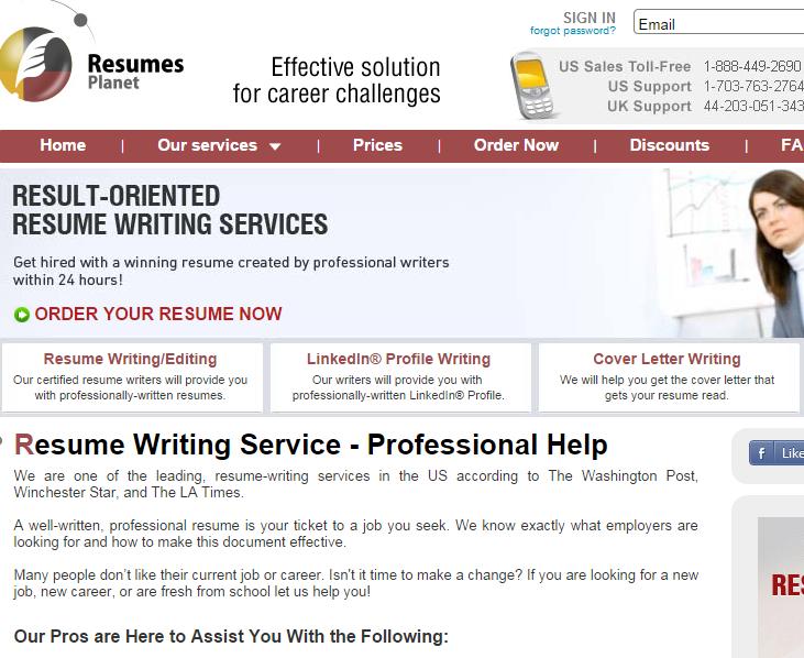 Jennifer S Resume Writing Services Reviews Resumesplanet Com Review